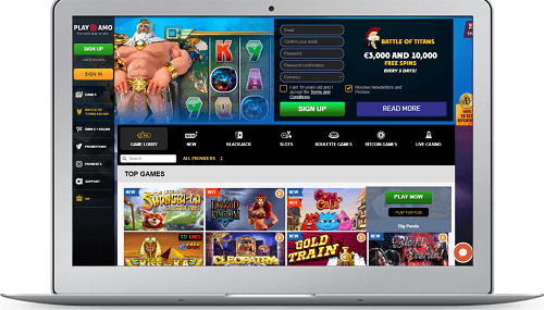 playamo casino - top casino pokies online