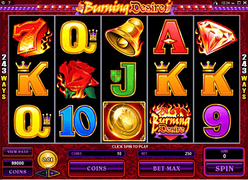 Play Burning Desire for real money