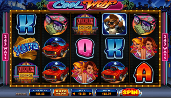 Play real money Cool Wolf pokies