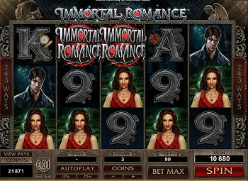 Play Immortal Romance online