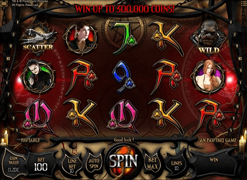 play hansel & gretel witch hunters pokies game