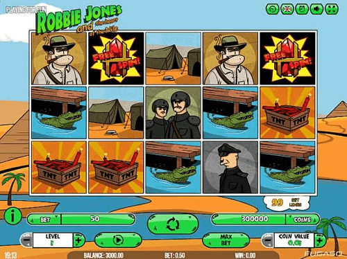 play robbie jones pokies game for real money
