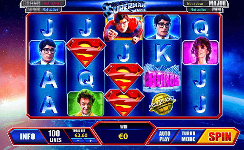 play superman pokies game for real money