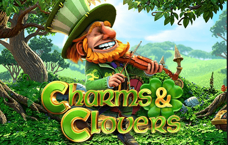 play charms and clovers pokies game