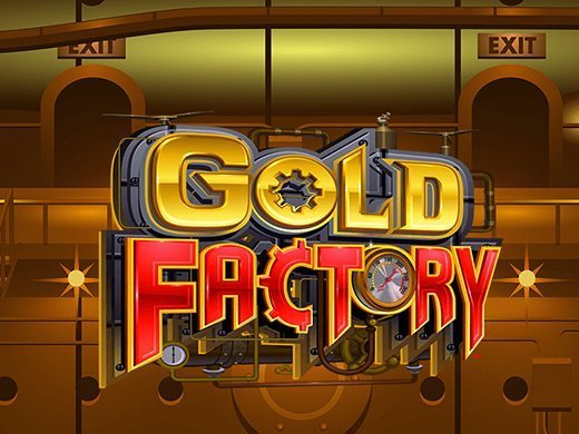 gold factory pokies logo