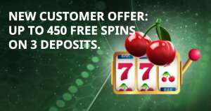 VIP slots welcome package: 450 free spins