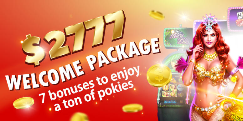 Pokies Parlour $2777 Welcome Package