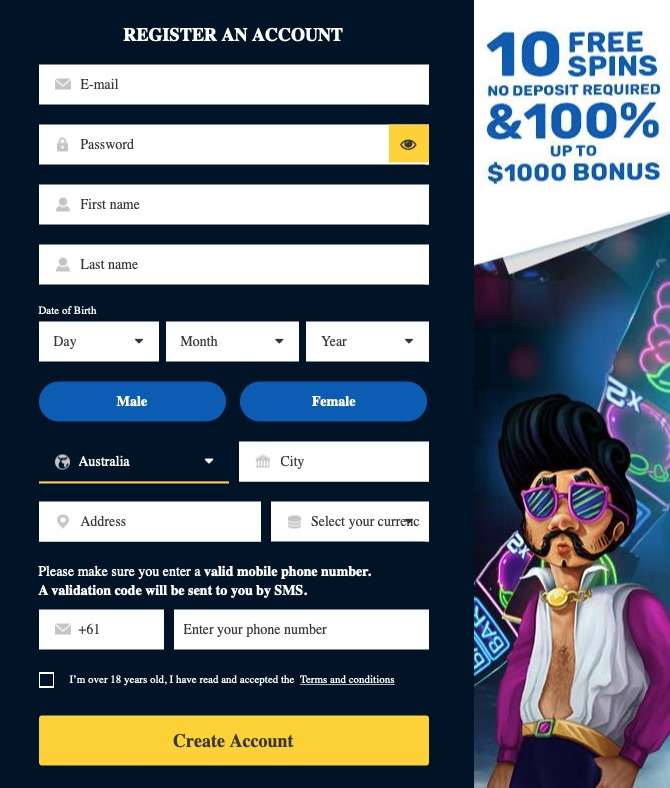house of pokies signup